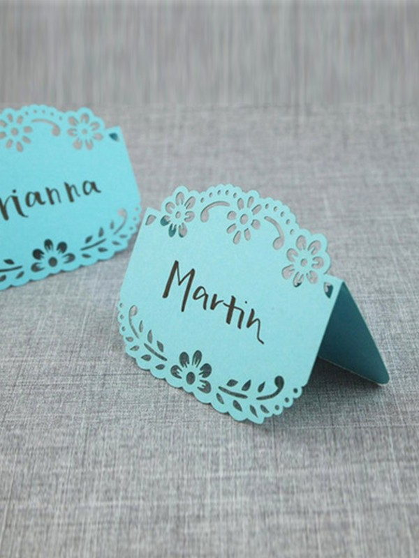 Pretty Table Number Cards(100 Piezas)