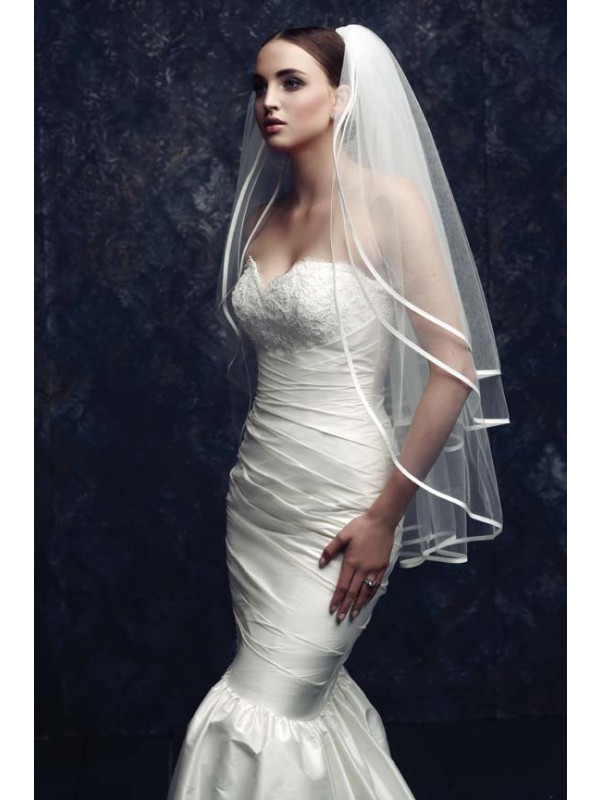 Gorgeous 3 Layer Tul Bridal Veils