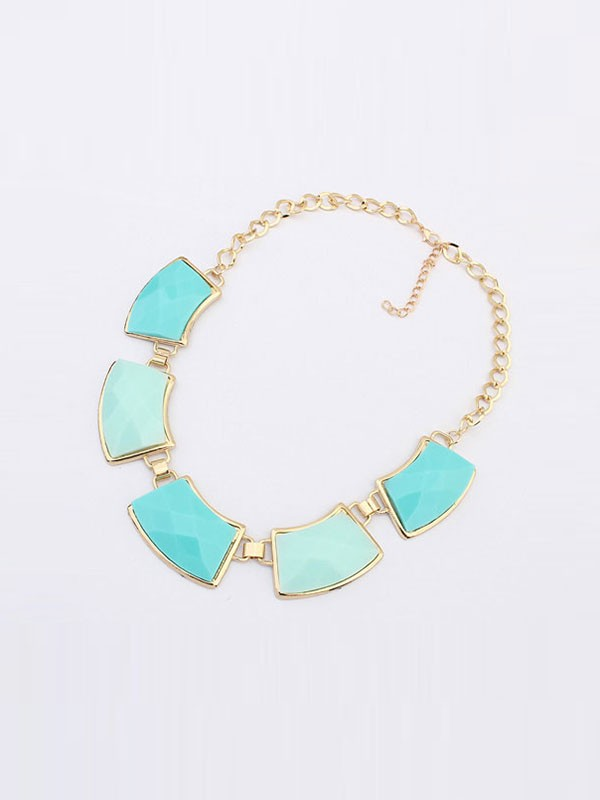 Occident All-match Elegant Geometry Fashion Necklace