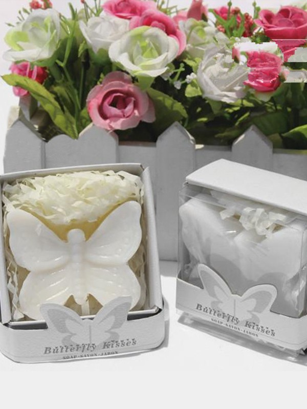 Wedding Gifts-hermosa Butterfly Soaps(5 Piezas)